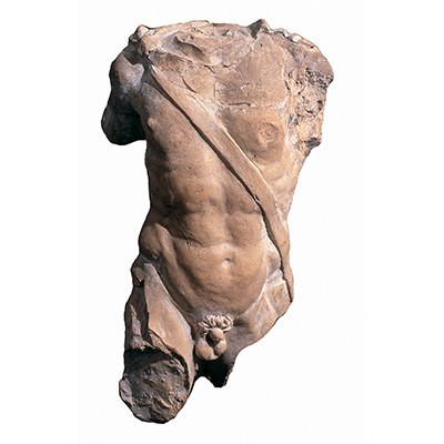 Busto fillie di un guerriero