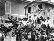 La sfilata nel 1921