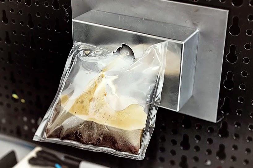 La macchinetta del caffé della stazione orbitale
