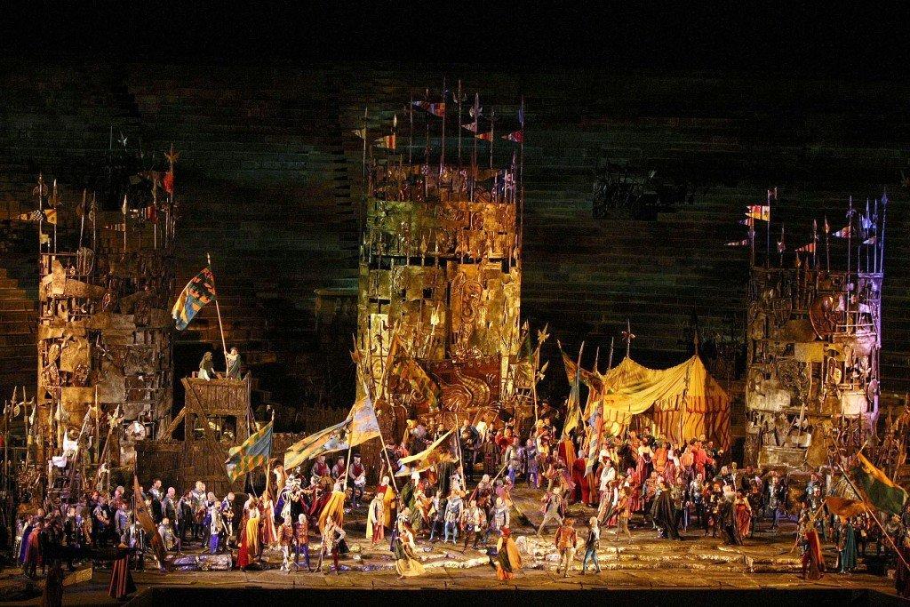 Arena di Verona, Il Trovatore
