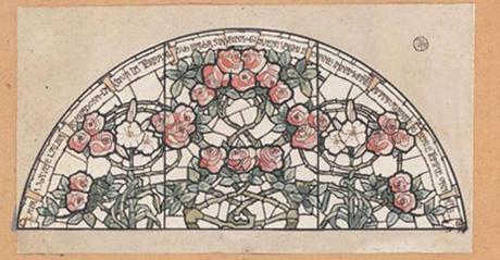 La vetrata delle rose