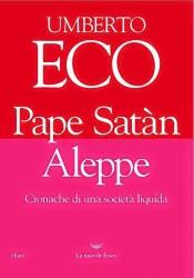 La copertina dell'ultimo libro di Eco