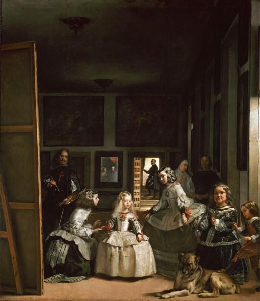 Il quadro di Velasquez Las Meninas