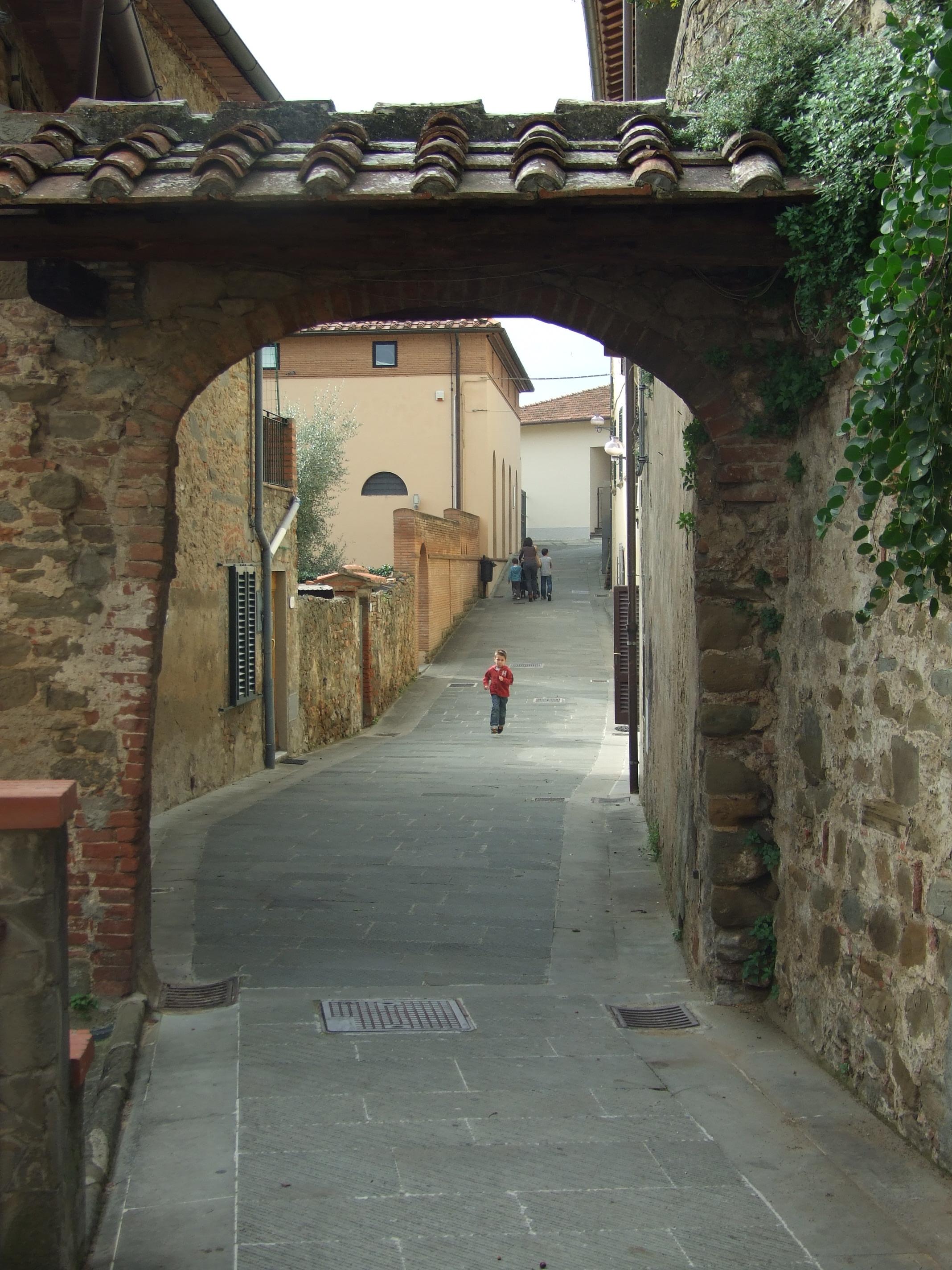 Uno scorcio del borgo
